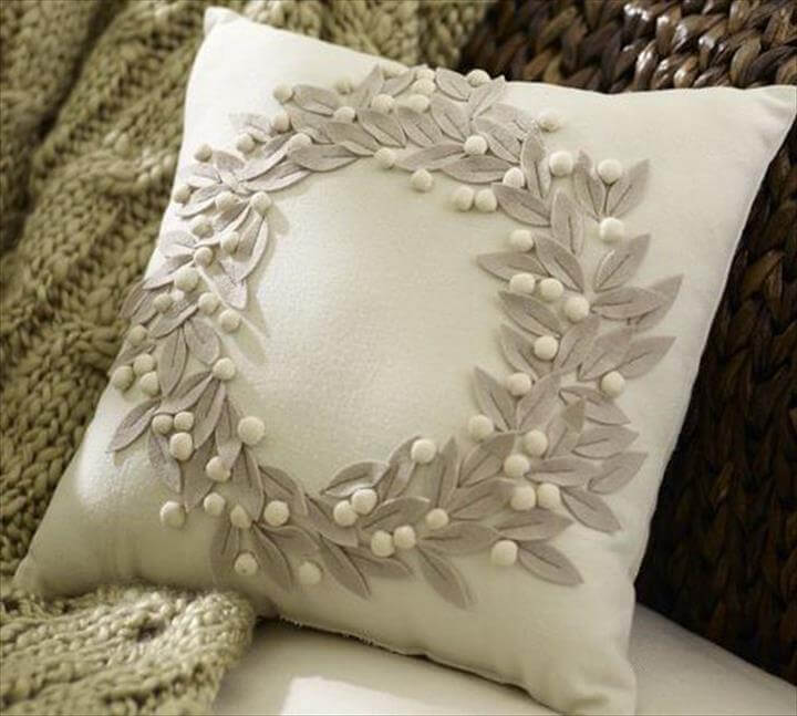 Pottery Barn Pillow Knockoff: I can hardly tell what pillow is from pottery barn and 15 diy pillow ideas