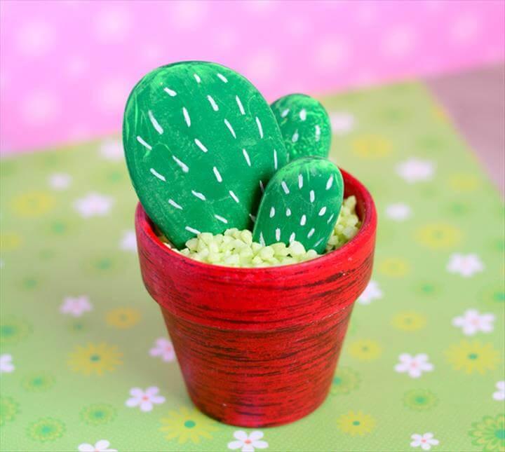 Aamzing Rock Cactus Craft
