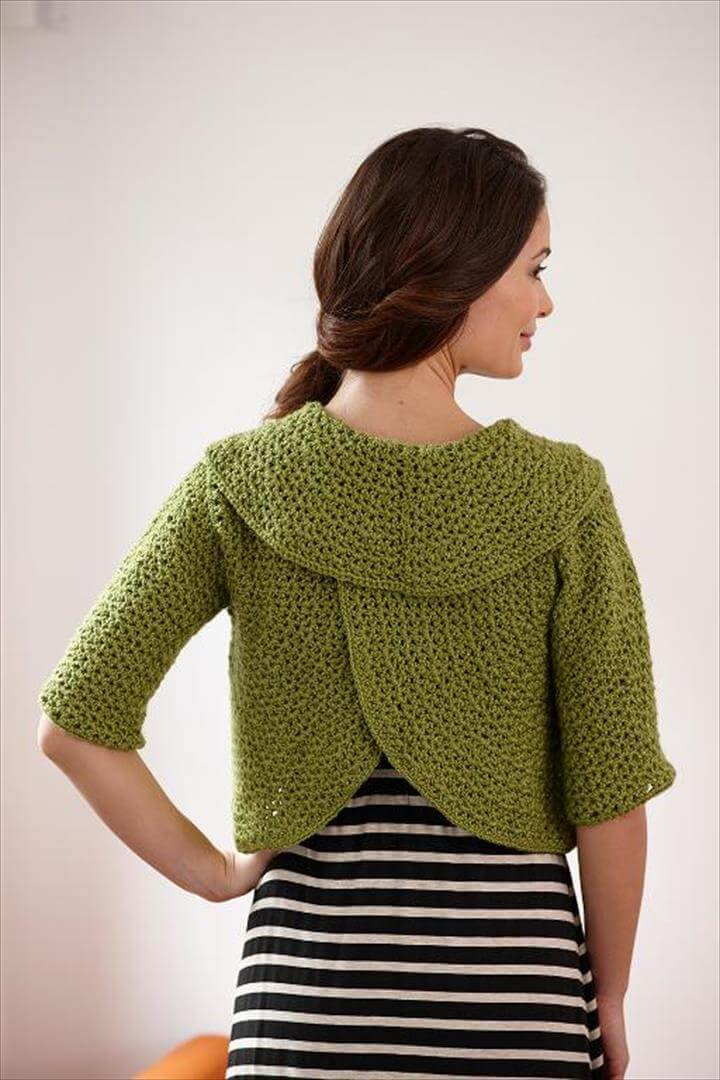 Round-About Cardigan Crochet Kit