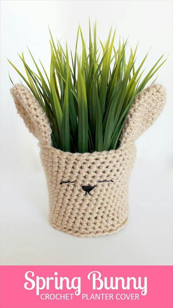 bunny planter box