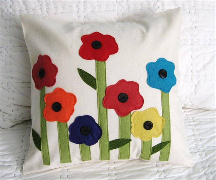 DIY Pillow Decoration Designs