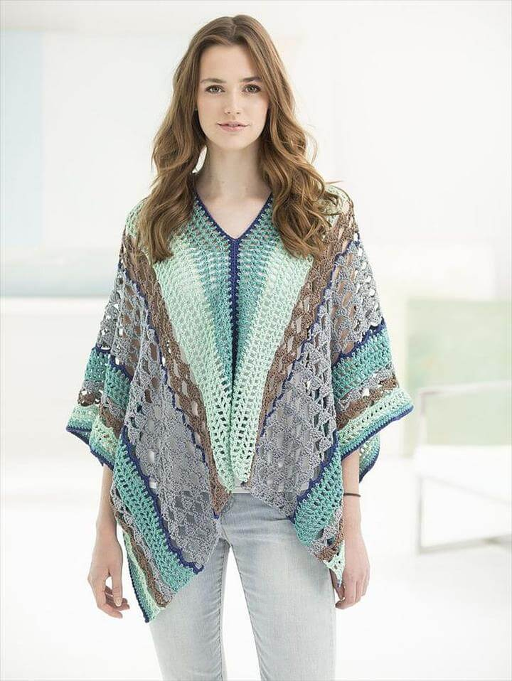 Clement Canyon Poncho