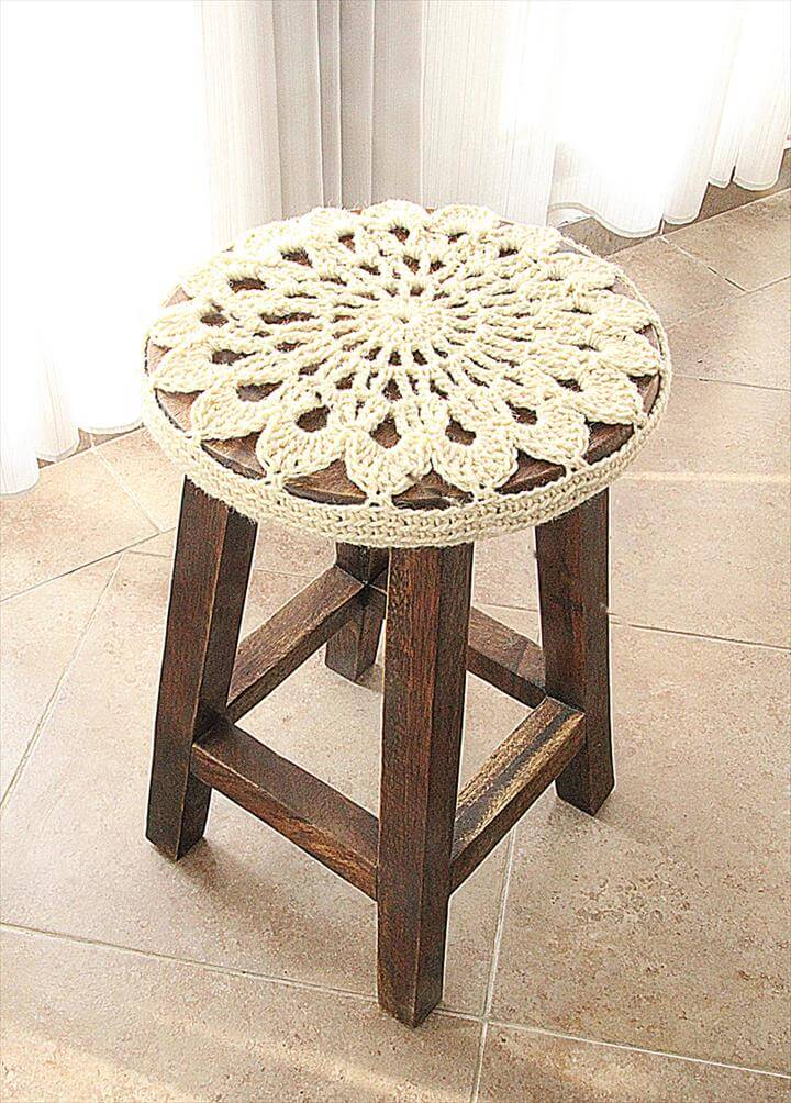 diy stool cover
