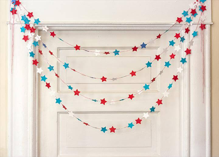 Three Patriotic Garland Ideas