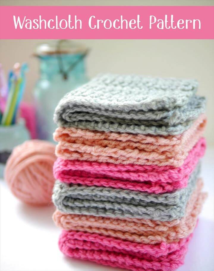 Washcloth Crochet Pattern