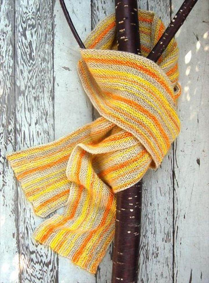 28 Amazing No Knit Diy Scarf Tutorials Diy To Make
