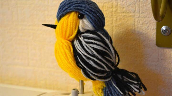 Cute Yarn Birdie - DIY Crafts Tutorial