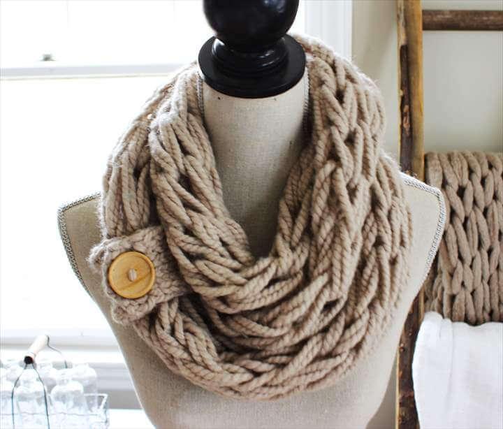 DIY Arm Knitting