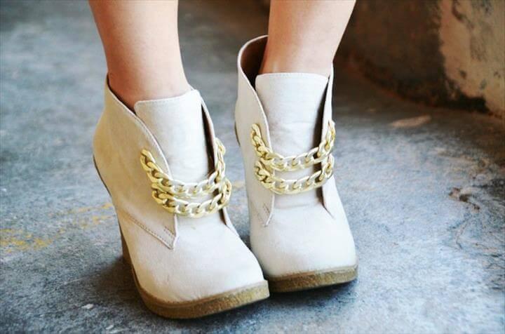 amazing chain shoe