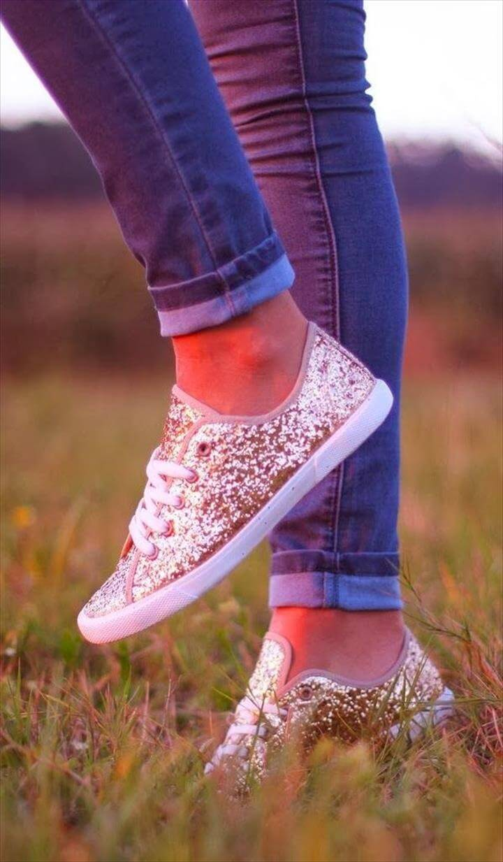 Cool and Fun DIY Shoe Makeovers