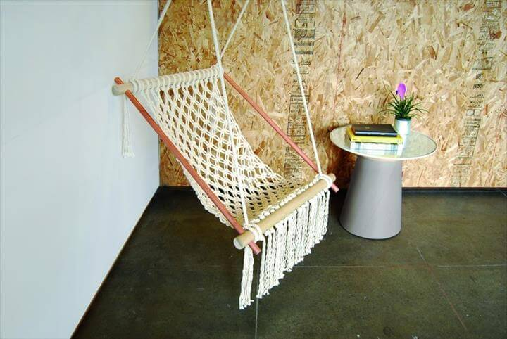 DIY Hanging Chairs projects To Try This Spring