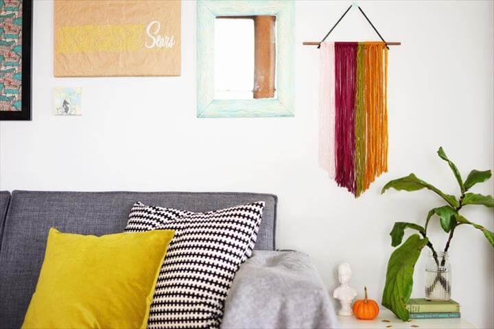 DIY String Wall Art Decor