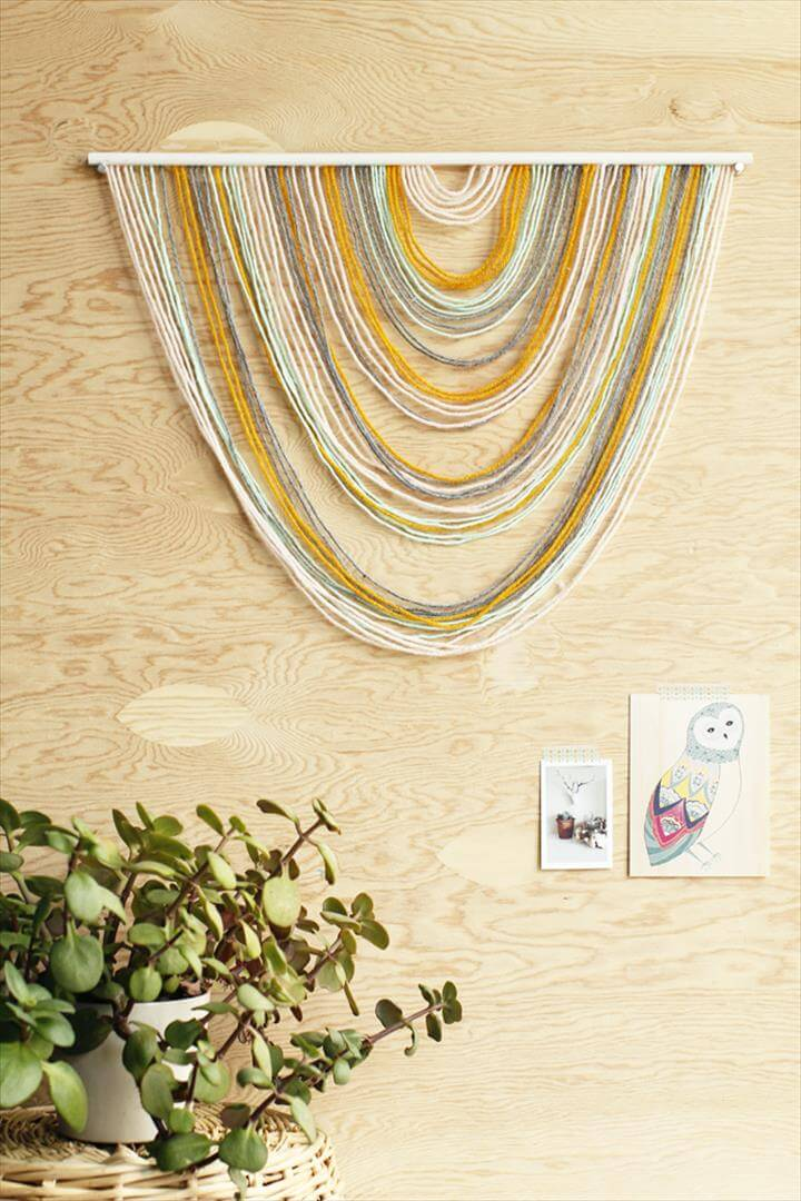 Easiest DIY Wall Hangings