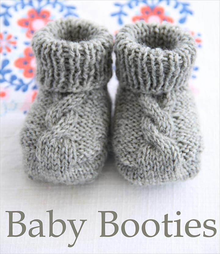 Handmade Epipa Baby Booties
