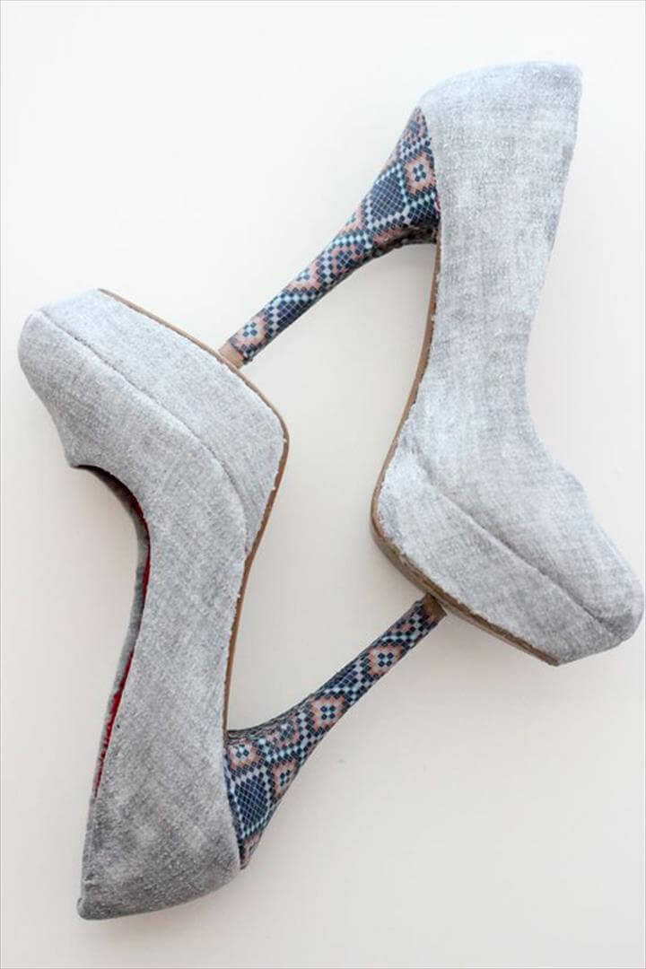 Old High Heels Look Fabulous