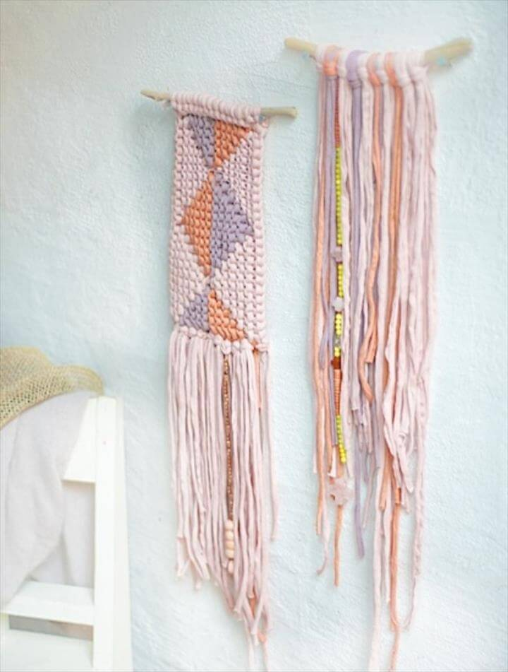 DIY [Woven Wall Hangings