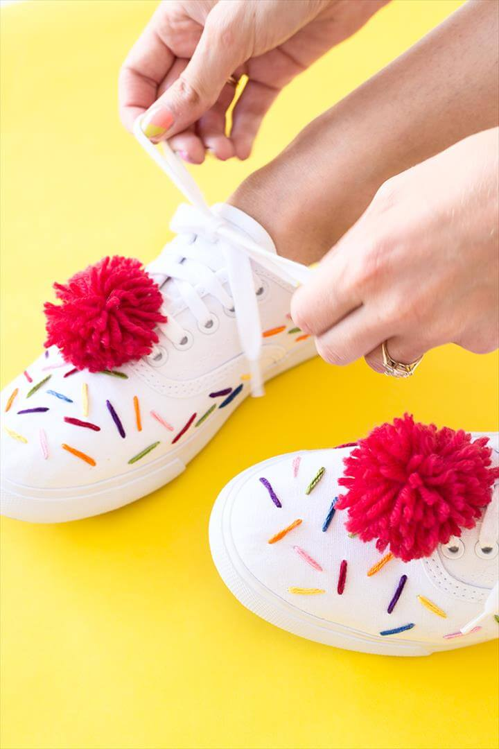 DIY Ice Cream Sneakers