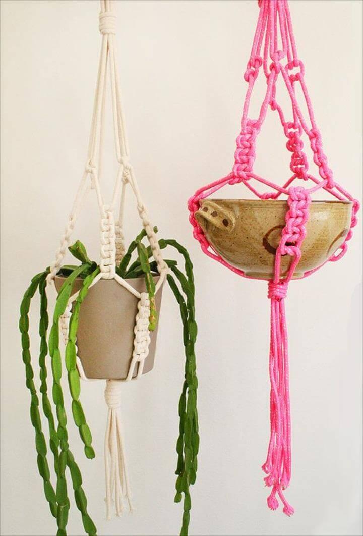 Lovely Macrame DIY Crafts