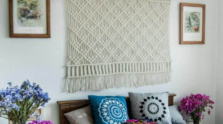 Design Your Home With Macrame Wall Hanging