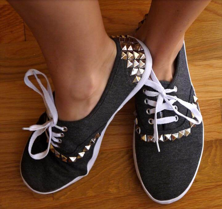 stylish studded shoe