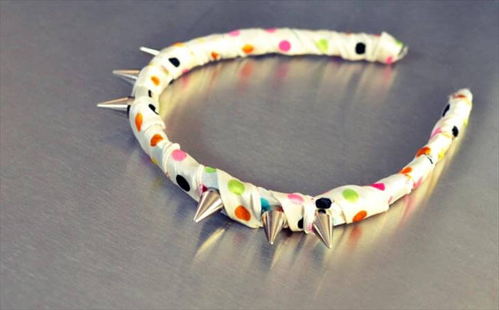 diy studded headband