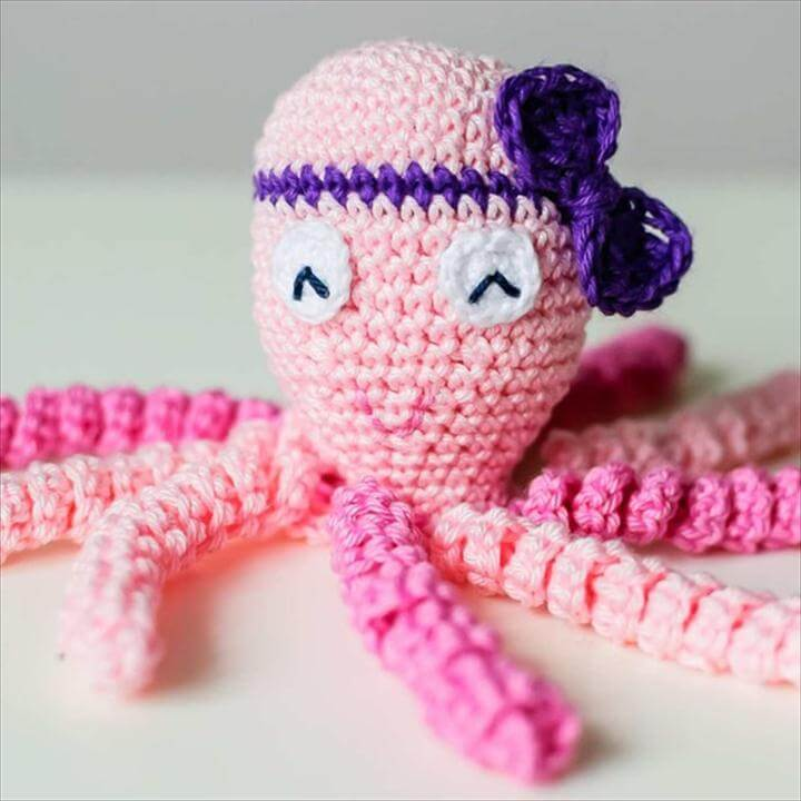 crochet octopus toys for premature babies