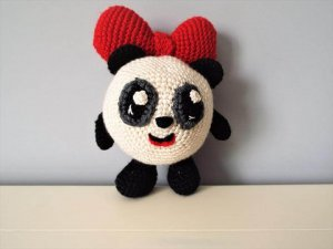 Амигуруми вязание крючком панда 294