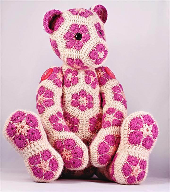 Lollo African Bear Crochet