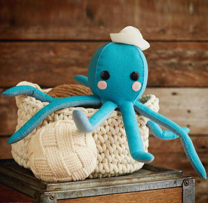 Adorable Free Sewing Patterns for Stuffies, Plushies, Stuffed Animals and Other Felt