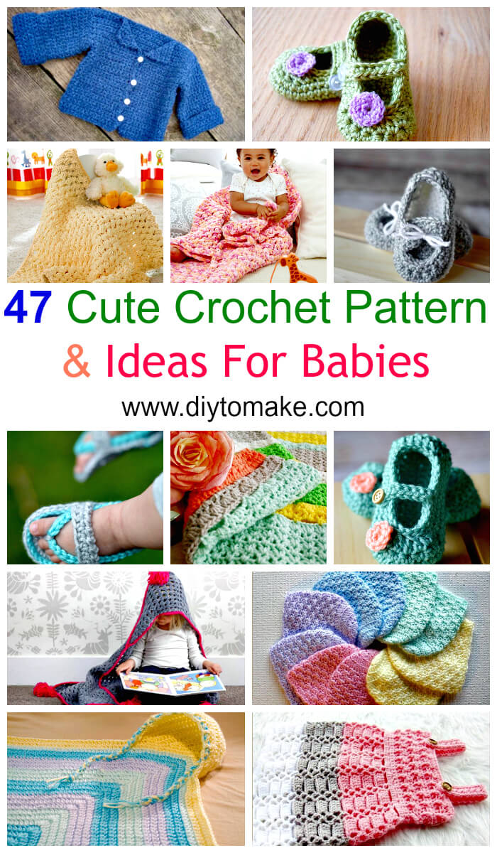 47 Cute Crochet Pattern & Ideas For Babies
