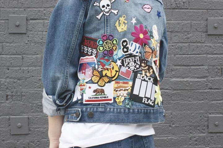 DIY: Patch Party Denim Jacket