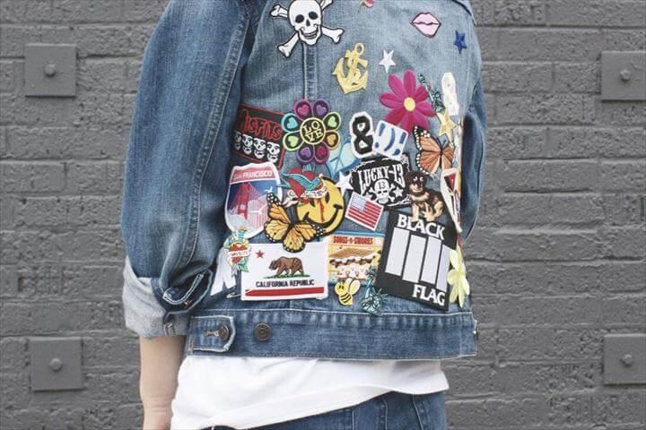 DIY: Patch Party Denim Jacket