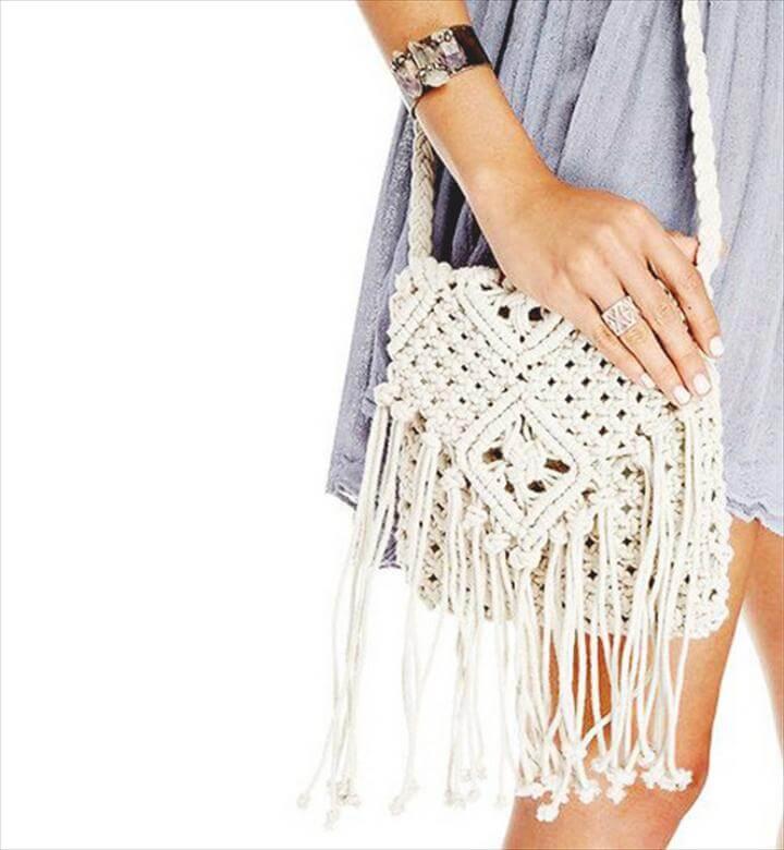 Crochet Summer Beach Bag
