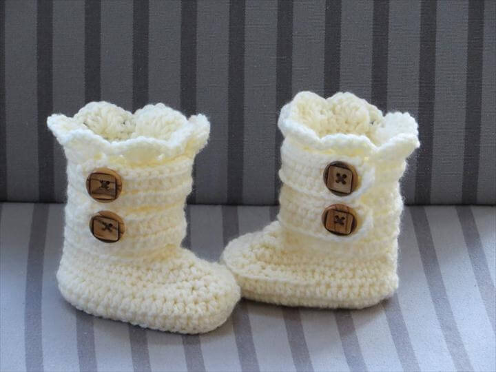 classic snow boot crochet pattern