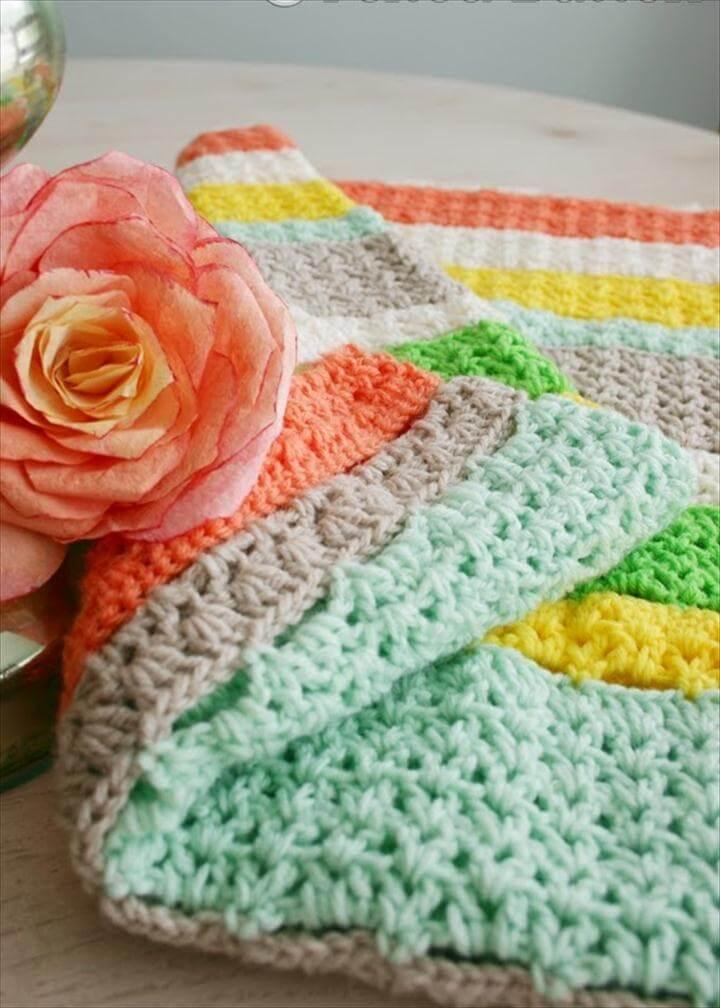 A Free Crochet Blanket Pattern