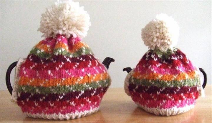 Festivity Tea Cozy Pattern