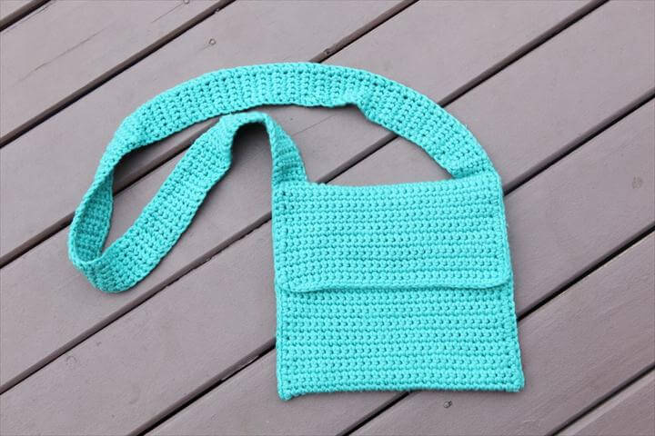 crochet girl's handmag, diy purse, crochet bag, crochet purse, diy