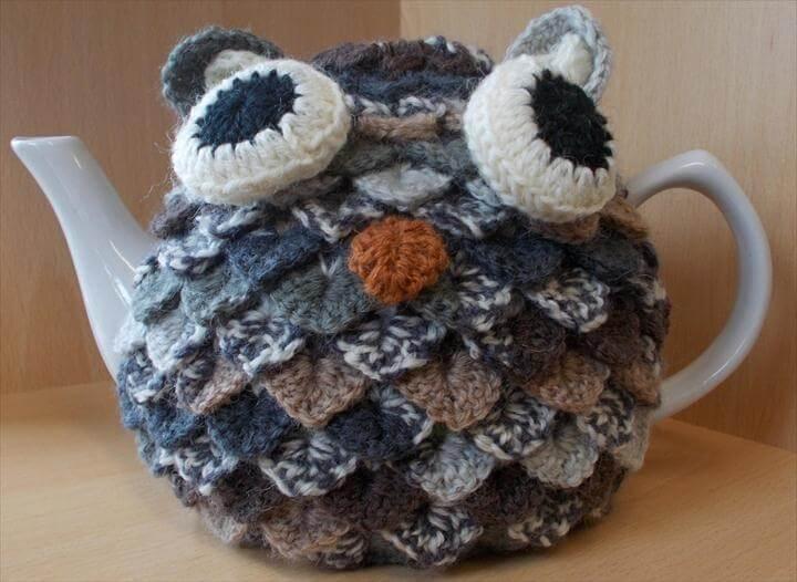 Crochet Owl Tea Cosy Pattern