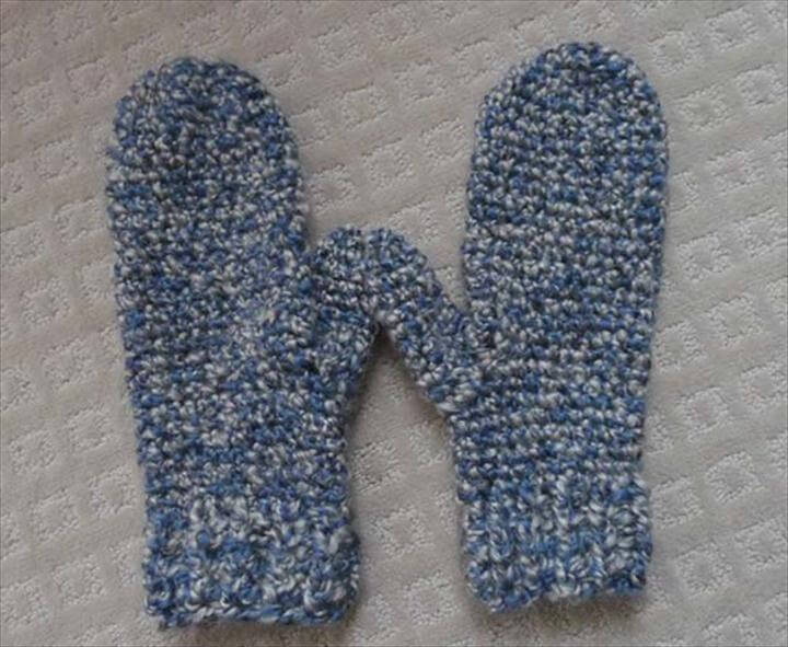 Crochet Patterns and Projects for Teens - Cozy Crochet Mittens - Best Free Patterns and Tutorials