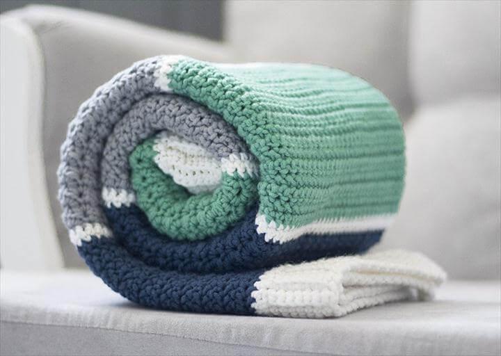 Henry's Baby Blanket Crochet Pattern