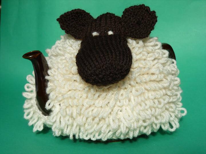 Sheep tea cozy