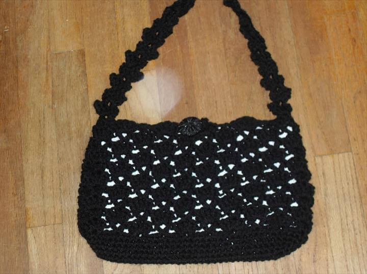 Free Patterns For Crocheted Small Summer Purses
