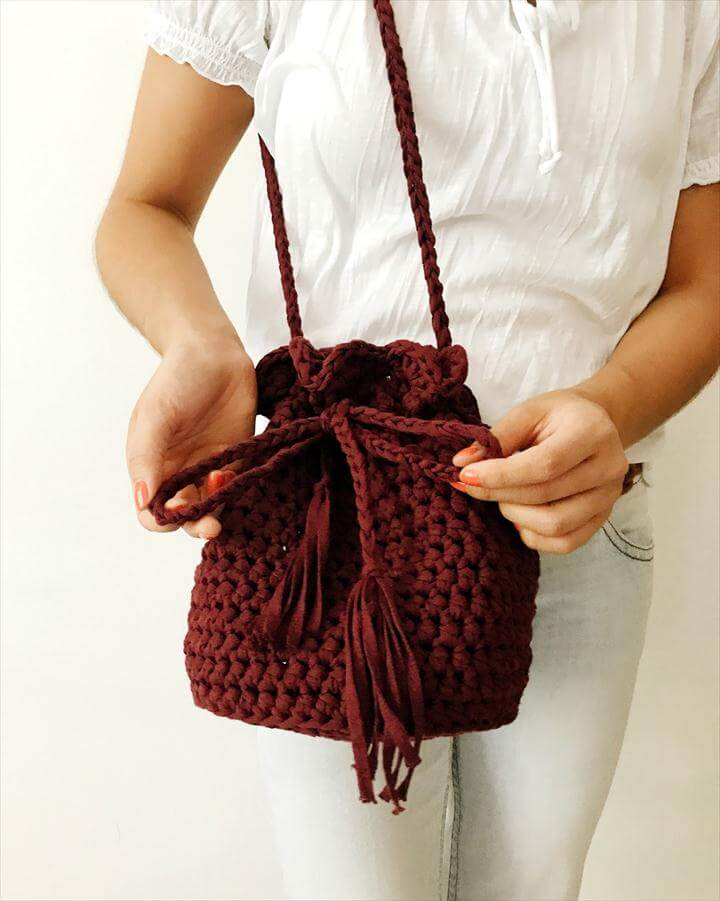 Crochet Sunset Purse