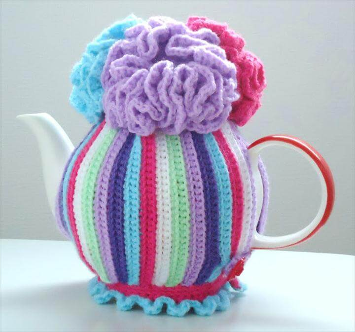 99 Pretty Marvelous Crochet Tea Cozy Pattern Diy To Make