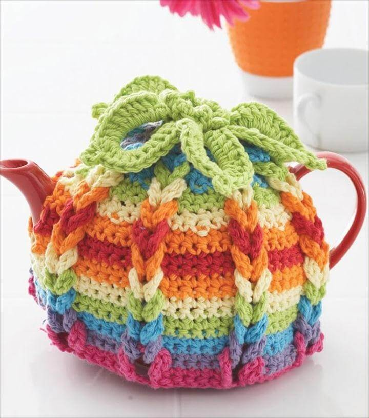 Hot Hibiscus Tea Cozy