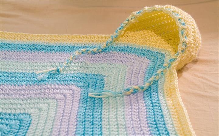 Crocheted Hooded Baby Blanket ideas