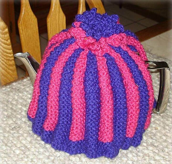 Knit a 'proper' English Tea Cosy!