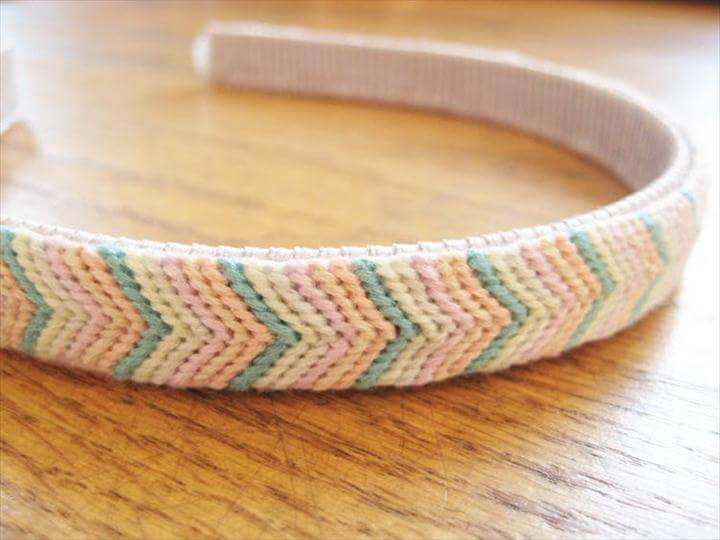 Knotted Chevron Headband