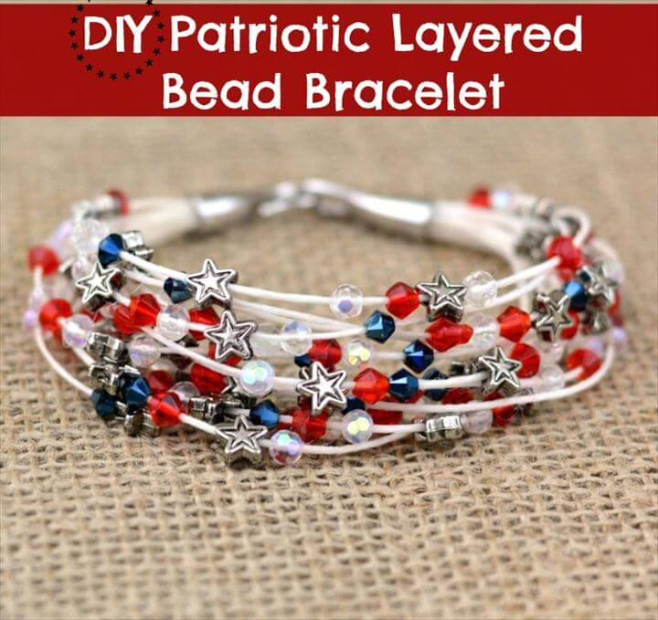 diy colorful bracelet