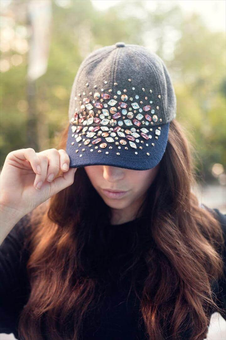 Bedazzled Ballcaps